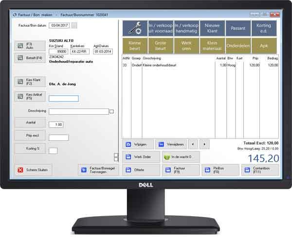 garage software van usefulsoftware slechts 8 95 per maand